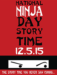 Authors Rally 'Round Ninja Day