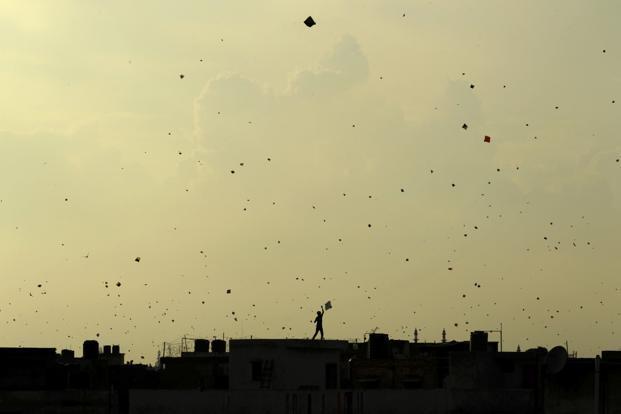 In Pictures: Kite flying in old Delhi
