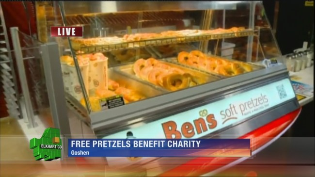 Ben's Soft Pretzels gets ready for National Pretzel Day