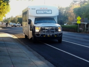 Palo Alto shuttle survey nearly passed by many seniors