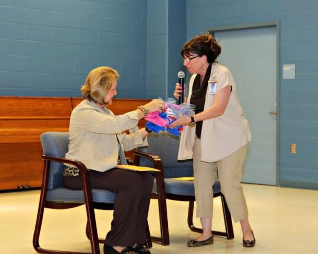 Creech Elementary celebrates namesake's day with induction program
