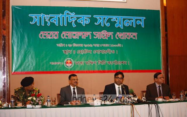 Mayor Khokon promises to clean Dhaka South in one year