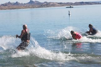 Grab your swim trunks: Havasu's Polar Bear swim changes locations