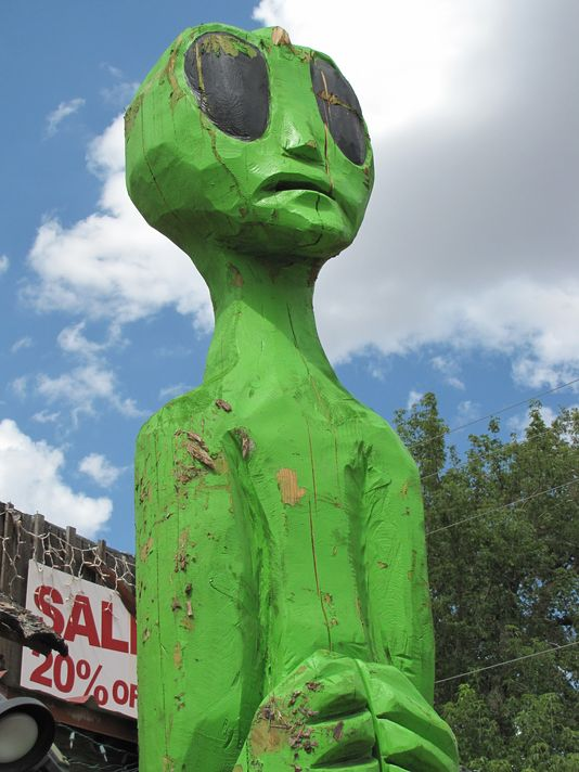 7 'alien sightings' for World UFO Day