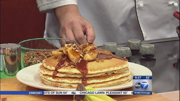 National Pecan Day Pancakes
