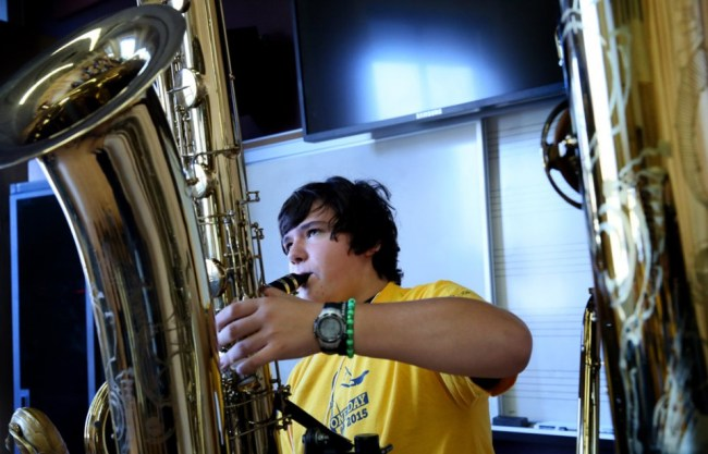 Kent State hosts Saxophone Day 2015