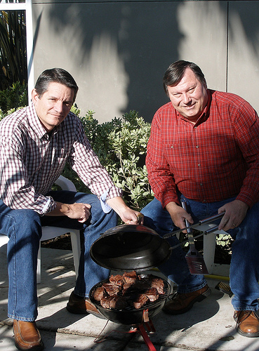 Grillin' and Chillin' for National Barbecue Month