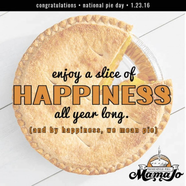 National Pie Day 2016: Find a Golden Ticket to win a year's worth of Mama Jo's Pie