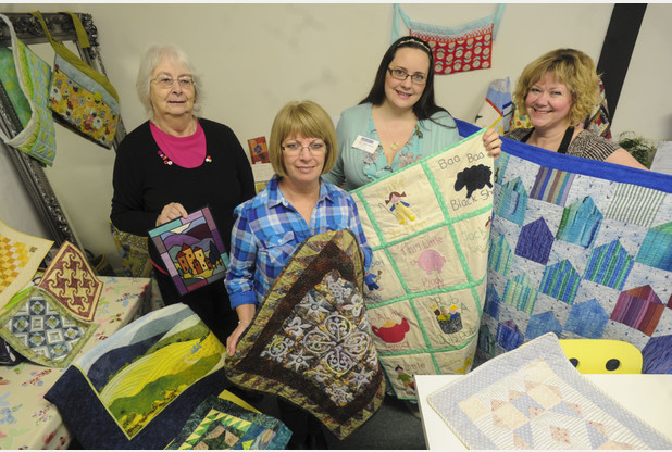 Crafty goings on as Ely celebrates 'Visit Your Local Quilt Shop Day'