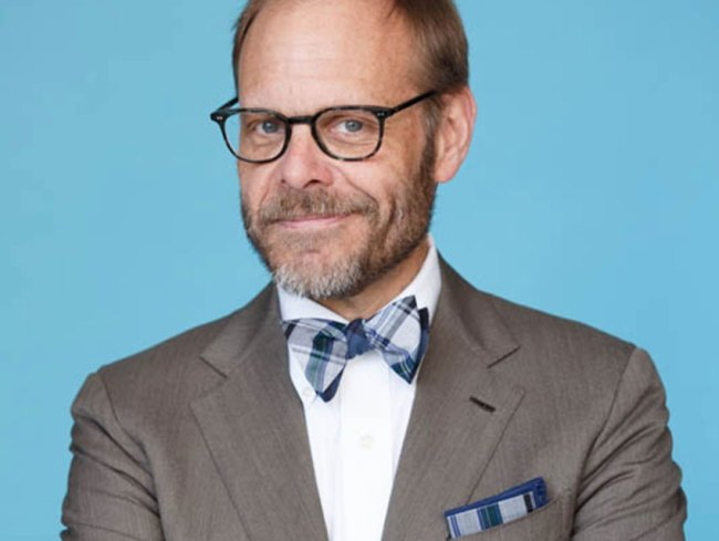 Alton Brown is Celebrating National Bow Tie Day Like a Boss