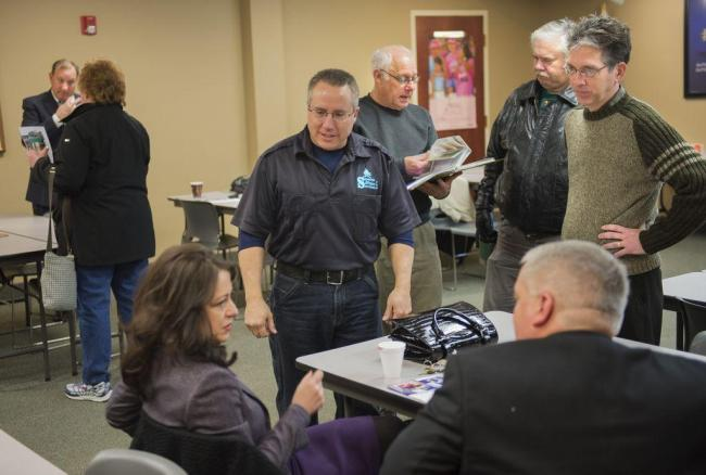 Greater Peoria Area Coffee Club members gather weekly for java and networking