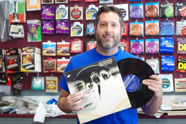 A day devoted to vinyl