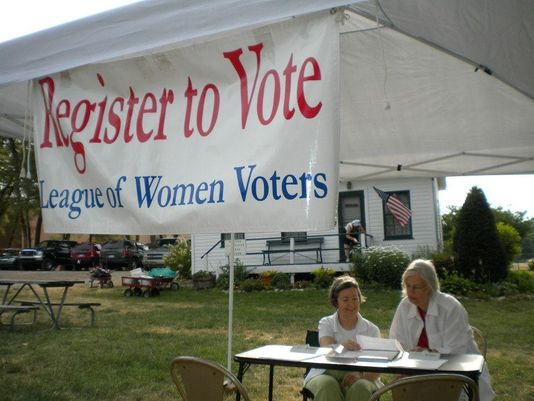 Women's Equality Day raises voter, redistricting issues