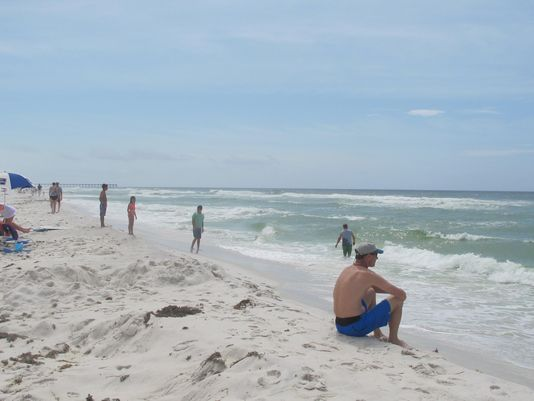 Summer beach fun in Pensacola