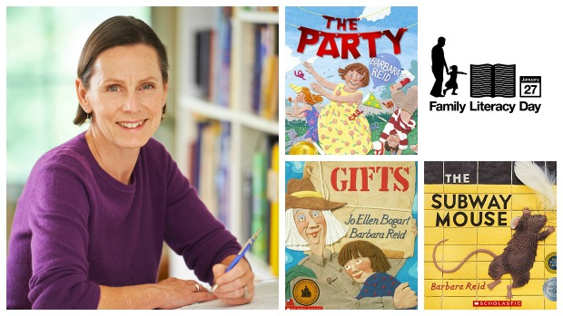 Barbara Reid shares her favourite books for Family Literacy Day