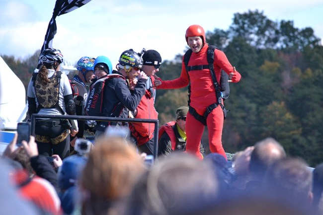 Falling with style at 36th Annual Bridge Day