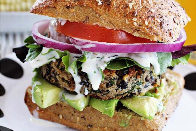 25 Unique and Trendy Veggie Burgers for National Hamburger Day!