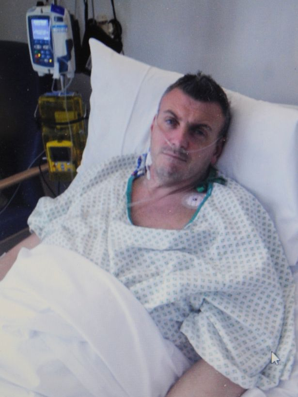 Birmingham dad beats cancer after one-and-a-half stone tumour removed from stomach