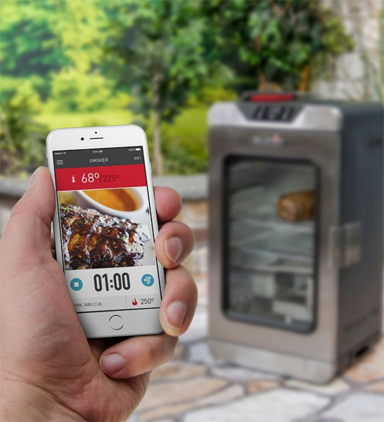 Char-Broil Can Make Thanksgiving Extra Happy with WiFi-Capable Smokers