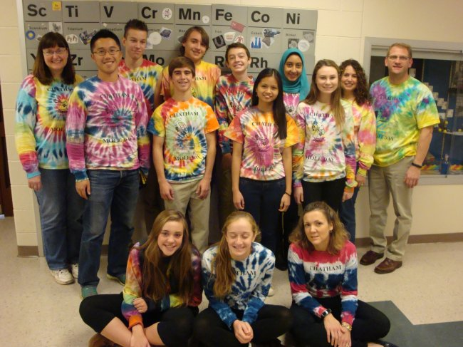 Chatham High School students celebrate 'Mole Day' on Oct. 23