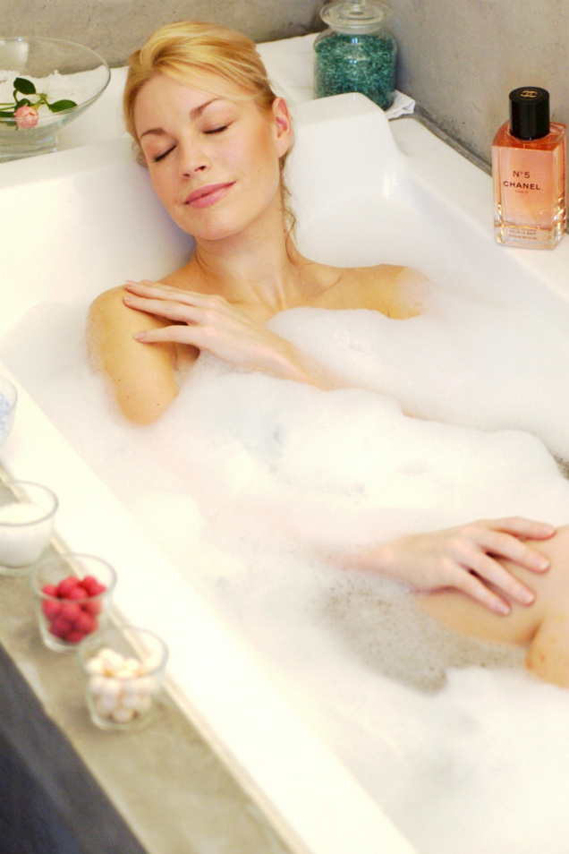 Blissful bubble baths