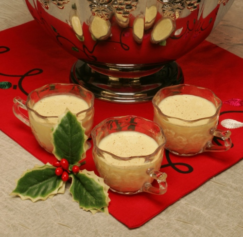 Eat this: Raise a glass of eggnog before nodding off