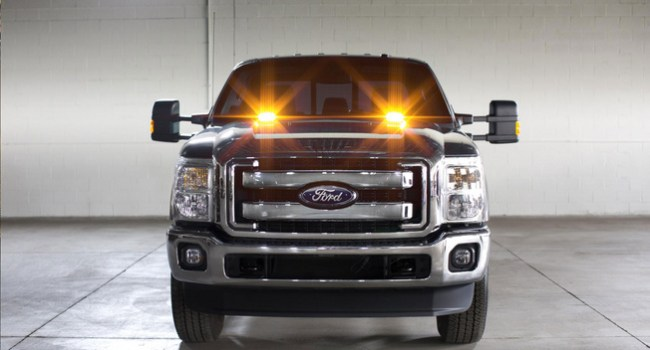 Ford celebrates Morse Code Day with F-Series Super Duty strobe kits