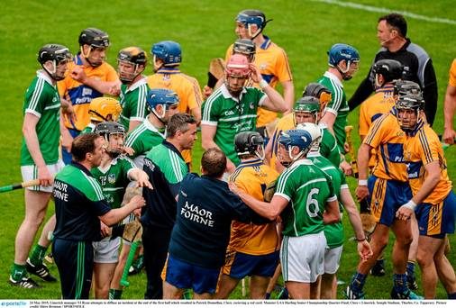 Limerick hold nerve to deny Clare in feisty Munster championship encounter