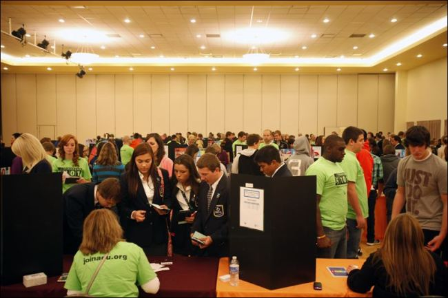 700 high schoolers get dose of reality, salaries, spending in game of Life at BGSU