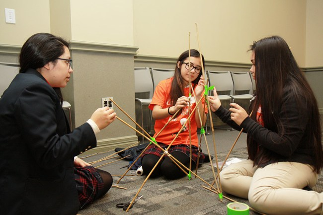 Girls Explore STEM Careers, Receive Encouragement from TI Staff