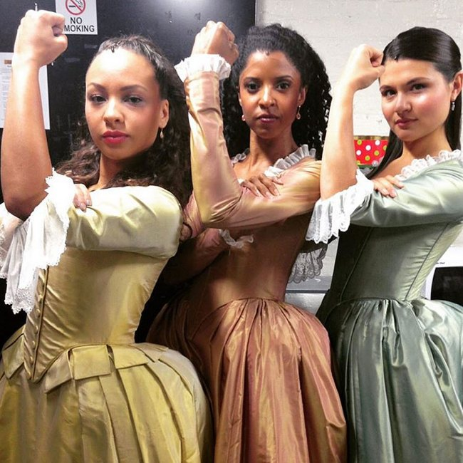 Broadway channels Rosie the Riveter for National Women's Equality Day