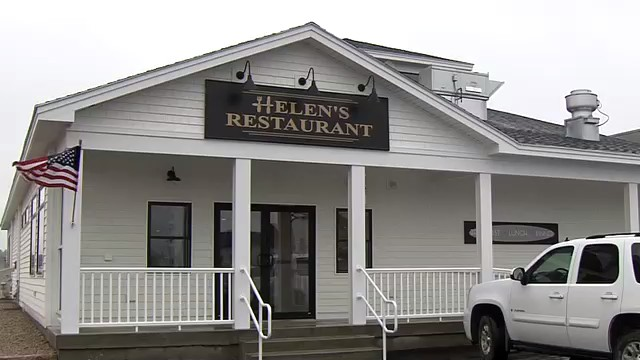 Rebuilt Helen's Restaurant in Machias Opens After Devastating Fire