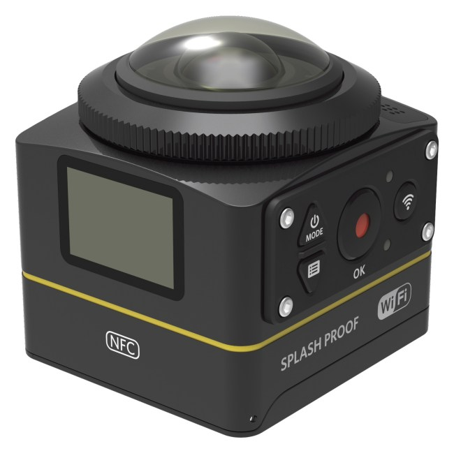 Win 1 Of 4 Kodak SP360-4K Cameras