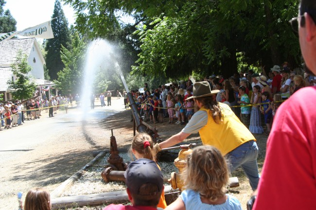The 49th Annual Humbug Day at Malakoff Diggins State Historic Park on June 13