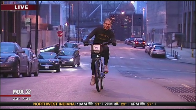 Hundreds ditching cars for Bike to Work Day