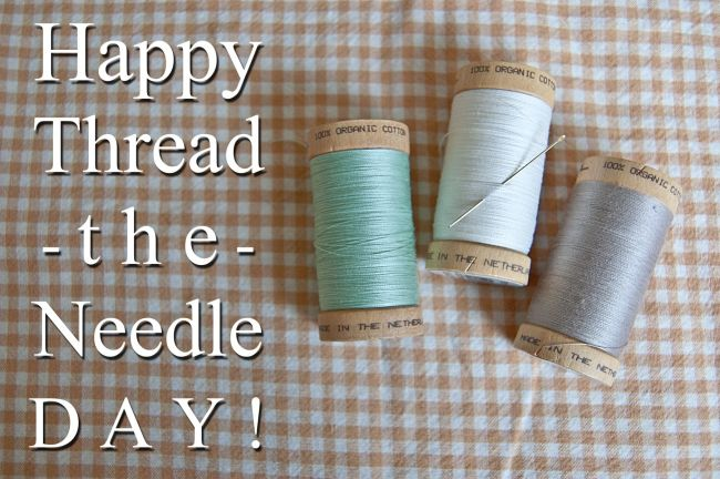 Celebrate Thread the Needle Day by Diverting Some Textile Waste (aka Mending ...