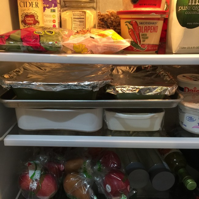 Prep Your Fridge For Thanksgiving