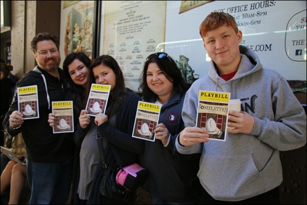 See Something Rotten! Fans Turn Out to Celebrate World Egg Day!