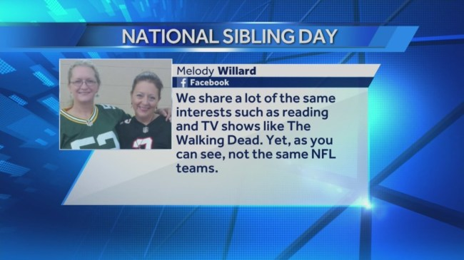 Today is National Sibling Day