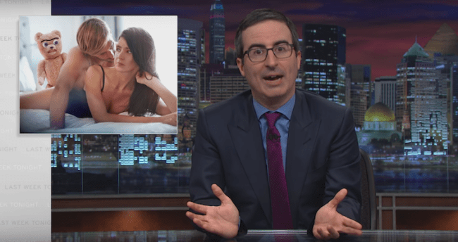 Watch John Oliver Give a Lesson in Regifting