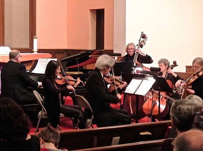 Leonia Chamber Musicians Society Presents Warm Music on a Winter Afternoon