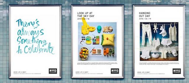 Mood firar bananens dag i den nya kampanjen