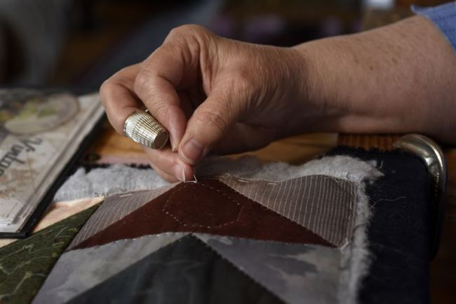 Marie Troyer's needlecraft hobby replaced by passion for quilting