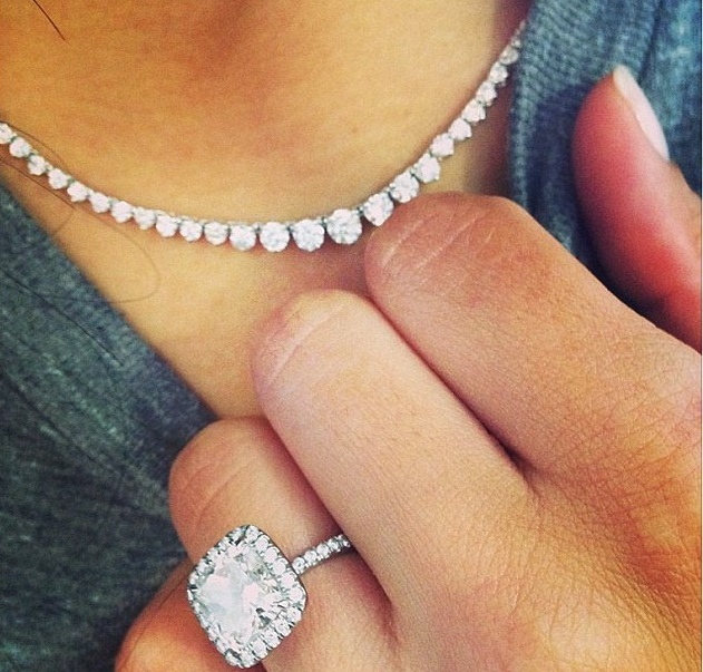 Top 5 Celeb Instagram Engagement Ring Selfies Celebrating National Proposal ...