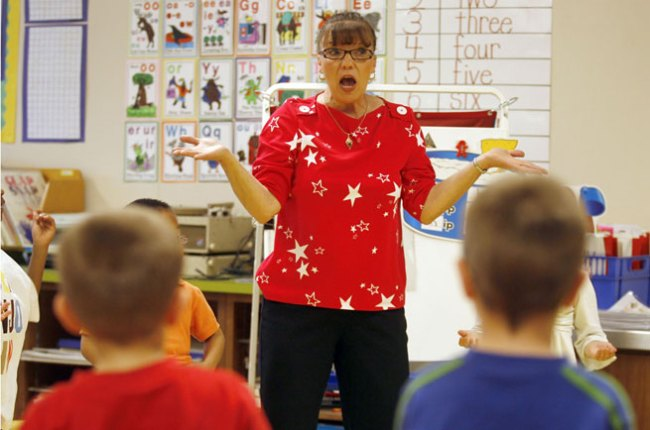 Veteran teacher retiring in May