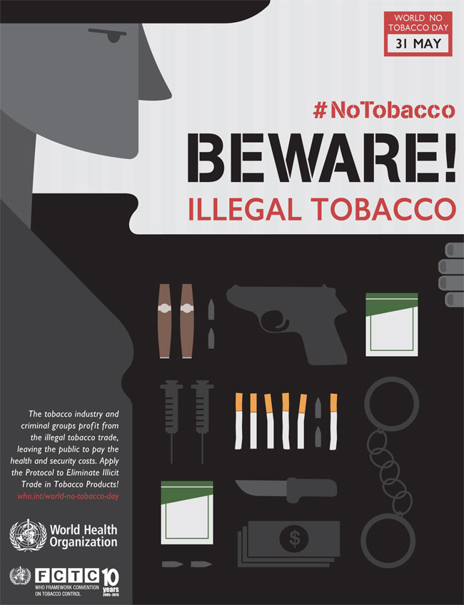 World No Tobacco Day 2015: On illicit trade and taxes