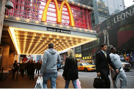 New York City fast food workers launch second day of job action