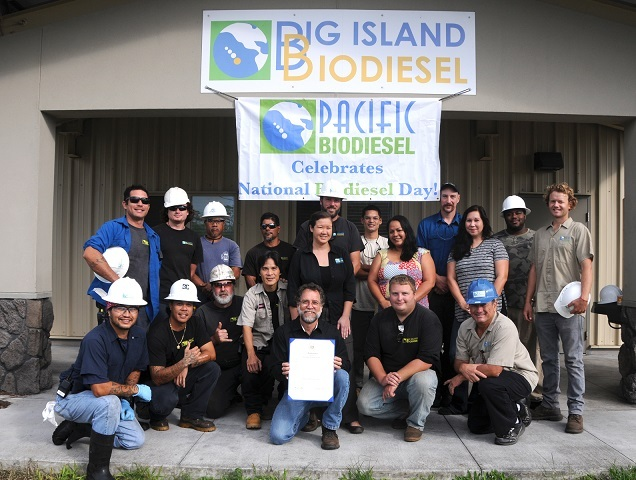 Hawaii governor tours BIB plant, commemorates Nat'l Biodiesel Day