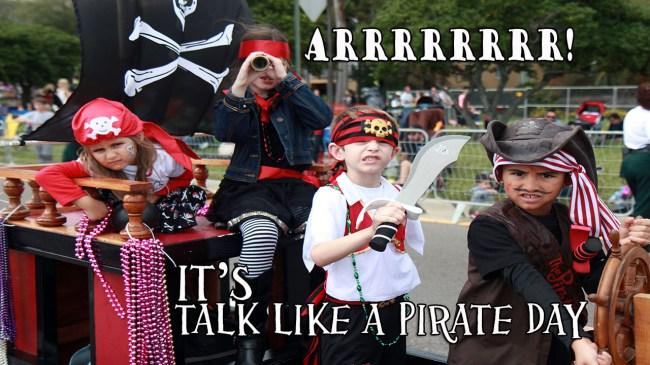 International Talk Like a Pirate Day & Bay Area freebies