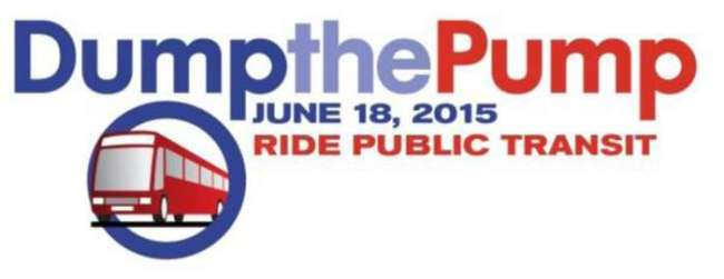 Dump the Pump day is June 18 as JTA urges drivers to use mass transit